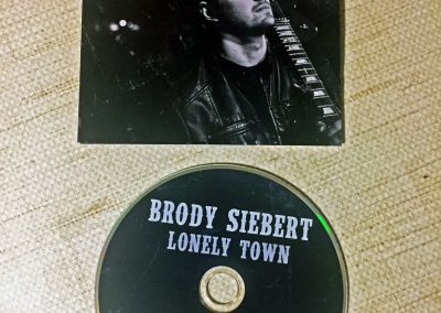 Brody Siebert - EP Cover & CD