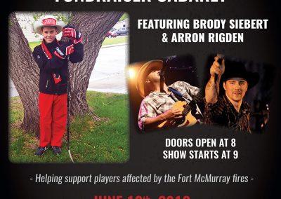 Brody Siebert - Concert Poster