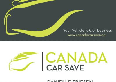 Canada Car Save - Business Cards