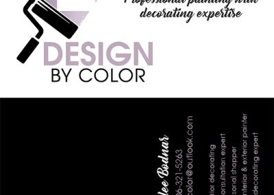 DesignByColor - Business Cards