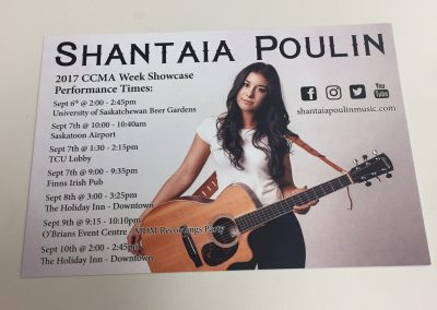 Shantaia Poulin  - Promo Card