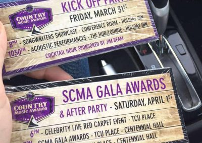 SCMA Awards - Tickets
