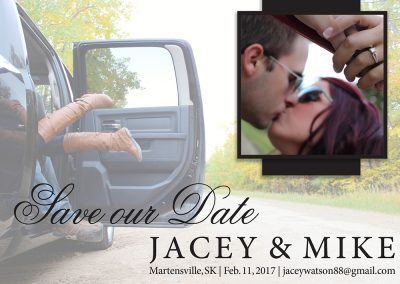Jacey Bailey - Wedding Save the Dates