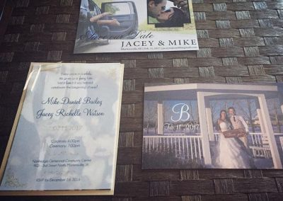 Bailey Wedding - Wedding Printing