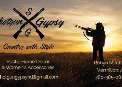 Shotgun Gypsy - Business Cards