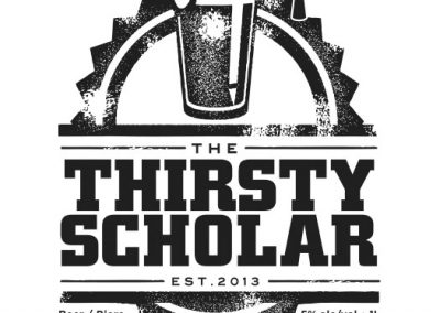 Thirsty Scholar - Beer Labels