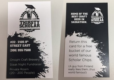 ThirstyScholar - Promo Tickets
