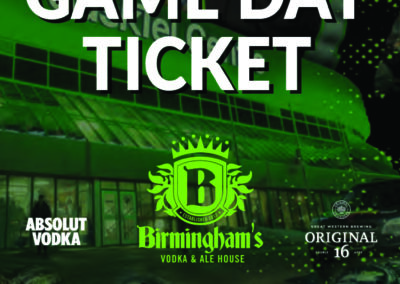 Birminghams - Rush Tickets