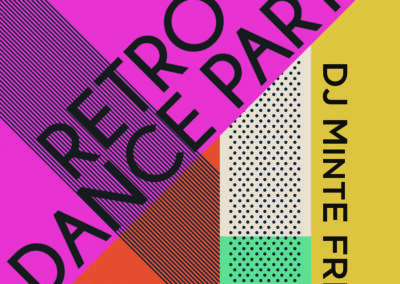 CSH Retro Dance Party poster