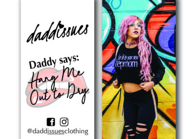 Daddissues Clothing - Hangtags