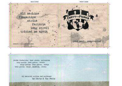 Dirty & ThePerks CD Cover