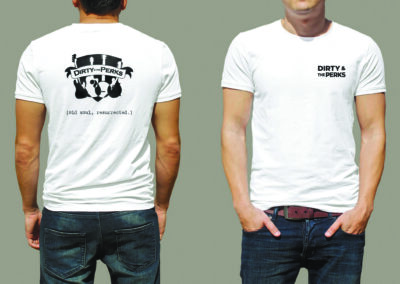 Dirty & the Perks shirt design
