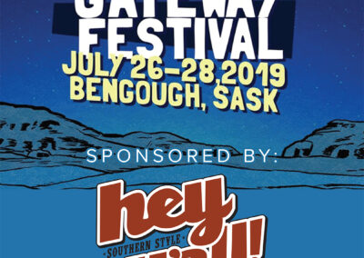 Gateway Music Festival - Giveaway Promo Poster