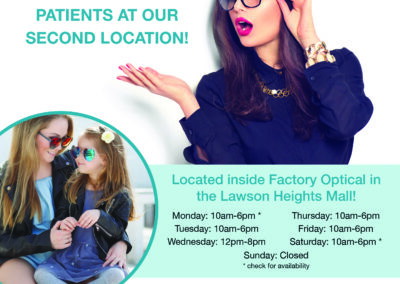 Kennedy Eye Clinic - Lawson Flyer